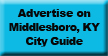 Advertise on MiddlesboroKY.com